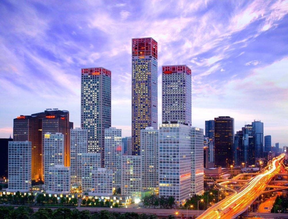 北京银泰中心大厦